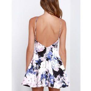c80c178a78 KEEPSAKE the Label Dresses - Keepsake Crossroads Floral Print Watercolour  Dress